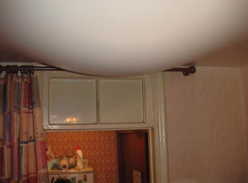 Потолок из гипсокартона на кухне своими руками